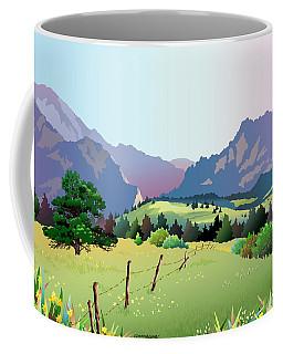 Bolder Boulder Poster 2009 Coffee Mug