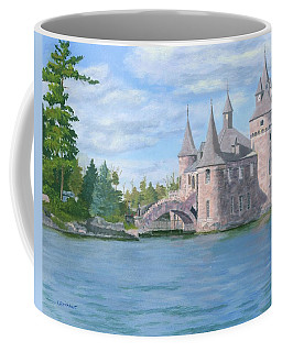Coffee Mug featuring the painting Boldt's Power House by Lynne Reichhart