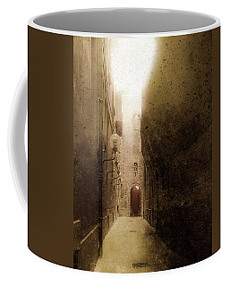 Coffee Mug featuring the photograph Bologna, Italy - Medieval Light by Mark Forte