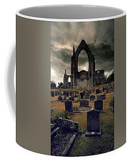 Bolton Abbey In The Stormy Weather Coffee Mug by Jaroslaw Blaminsky