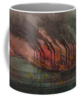 Bombardment And Capture Of Fort Henry, Tennessee Coffee Mug