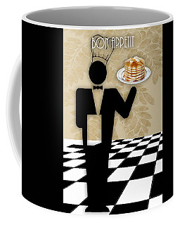 Bon Appetit Art Coffee Mug