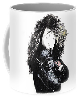 Bon Jovi Coffee Mug by Gina Dsgn