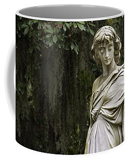 Coffee Mug featuring the photograph Bonaventure Angel by Jeannette Hunt