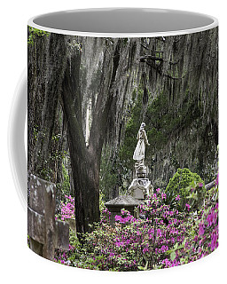 Coffee Mug featuring the photograph Bonaventure Cemetery  by Jeannette Hunt