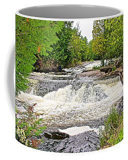 Bond Falls Flowage In Upper Peninsula-michigan  Coffee Mug