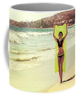 Bond Girl Laguna Beach Coffee Mug