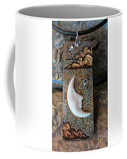 Bone Moon In Gourd Wood #r116 Coffee Mug