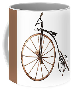 Coffee Mug featuring the painting Boneshaker Bike by Pg Reproductions