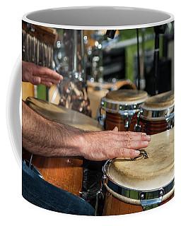 Bongo Hand Drums Coffee Mug
