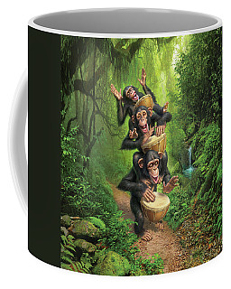 Bongo In The Jungle Coffee Mug