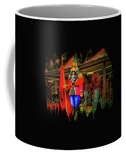 Coffee Mug featuring the photograph Bonjour Hello Good Day by Thom Zehrfeld