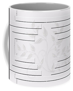 Bonjour Leaves Mass Coffee Mug