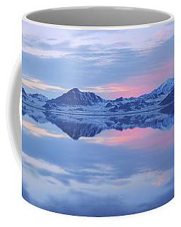 Coffee Mug featuring the photograph Bonneville Lake by Chad Dutson