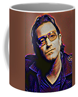 Bono Coffee Mug by Gary Grayson