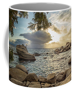 Bonsai Rock Through The Trees By Brad Scott Coffee Mug