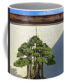 Coffee Mug featuring the photograph Bonzai Forest by Brenda Pressnall