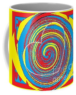Coffee Mug featuring the painting Boo Hearted by Catherine Lott
