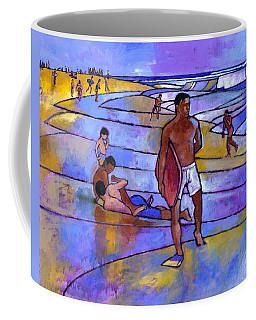 Boogieboarding At Sandy's Coffee Mug