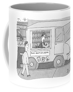 Books About Ice Cream Coffee Mug