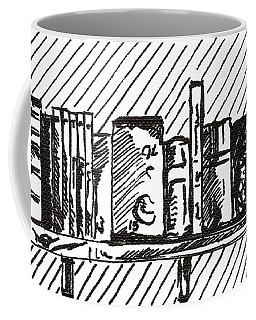 Bookshelf 1 2015 - Aceo Coffee Mug