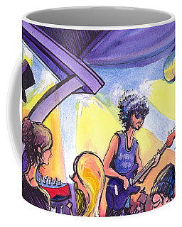 Coffee Mug featuring the painting Boombox At The Barkley by David Sockrider