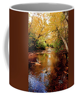 Coffee Mug featuring the photograph Boone Fork Stream by Meta Gatschenberger