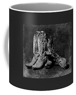 Boot Friends - Art Bw Coffee Mug