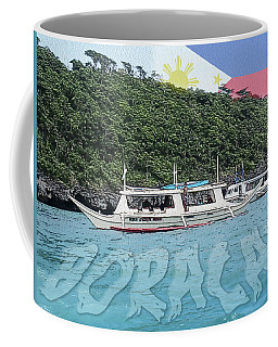 Boracay, Philippines Coffee Mug by Timothy Lowry