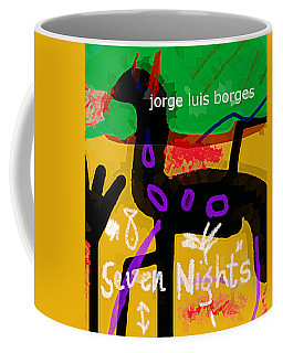 Borges Seven Nights Poster  Coffee Mug