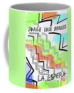 Borges The Wait Short Story  Coffee Mug