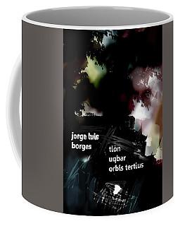 Borges Tlon Poster  Coffee Mug