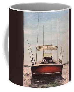Helen's Boat Coffee Mug by Stan Tenney