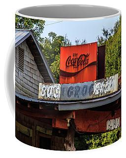 Coffee Mug featuring the photograph Bo's Grocery by Doug Camara