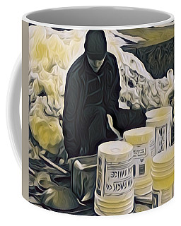 Boston Bucket Man Coffee Mug