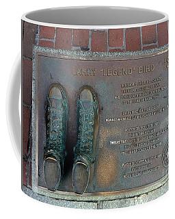 Boston Celtics Larry Bird Coffee Mug
