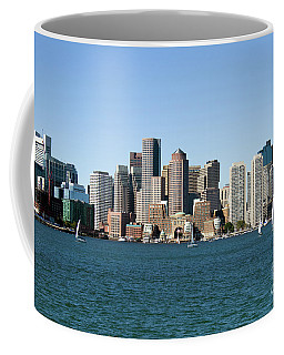 Boston City Skyline Coffee Mug