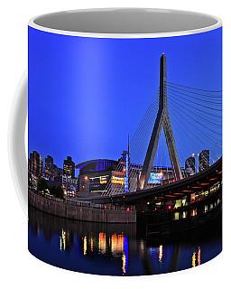 Boston Garden And Zakim Bridge Coffee Mug