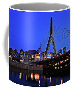 Boston Garden And Zakim Bridge Coffee Mug by Rick Berk