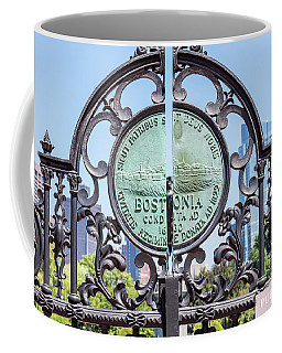 Boston Garden Gate Detail Coffee Mug