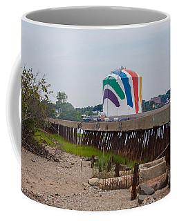 Boston Gas Tank From Squantom  Coffee Mug