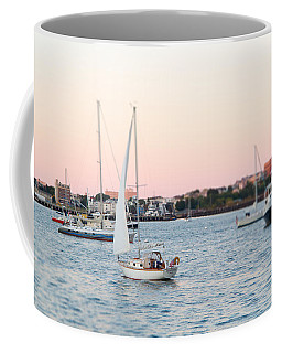 Boston Harbor View Coffee Mug