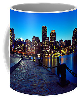 Boston Harbor Walk Coffee Mug