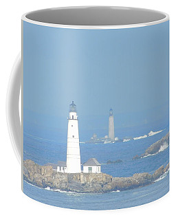 Boston Harbors Lighthouses Coffee Mug