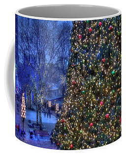 Boston Holiday Stroll - Faneuil Hall Coffee Mug by Joann Vitali