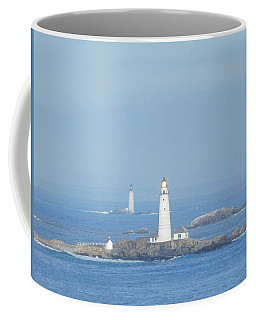 Boston Light Shining Brightly Coffee Mug