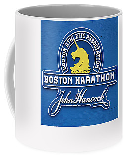 Coffee Mug featuring the photograph Boston Marathon - Boston Athletic Association by Joann Vitali