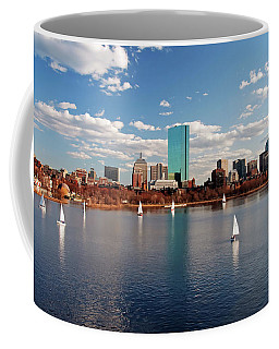 Boston On The Charles  Coffee Mug