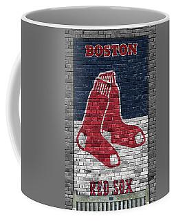 Boston Red Sox Brick Wall Coffee Mug