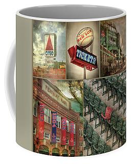 Boston Red Sox Fenway Park Collage Coffee Mug